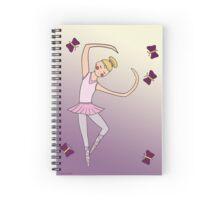 Ballerina Girl Spiral Notebook