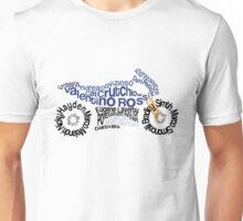 Typography MotorBike - MotoGP Unisex T-Shirt