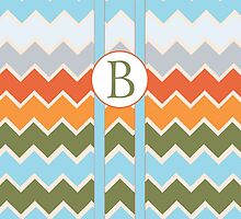 B Chevron by MonogramMonkey