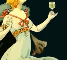 Absinthe Vichet, modern art nouveau Sticker
