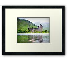 kilchurn castle-scotland Framed Print