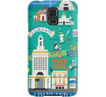Oakland - Collage Illustration by Loose Petals Samsung Galaxy Case/Skin