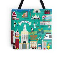 Oakland - Collage Illustration by Loose Petals Tote Bag