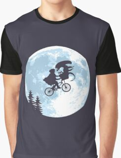 E.T. the Extra-Terrestrial - Xenomorph Graphic T-Shirt