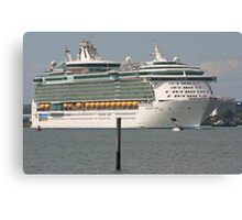 Independence of the Seas Canvas Print