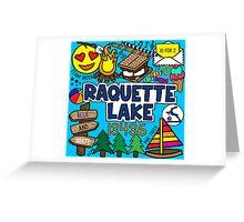 Raquette Lake Greeting Card