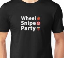 Wheel Snipe Party - Hockey / Lacrosse Apparel Unisex T-Shirt