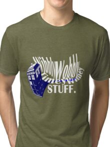 """Wibbly Wobbly"" Tri-blend T-Shirt"