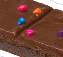 Rainbow Brownie Sticker