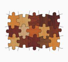 Puzzle Wood Kids Tee