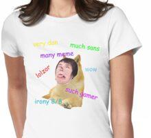 Dan + Doge = Dange Womens Fitted T-Shirt