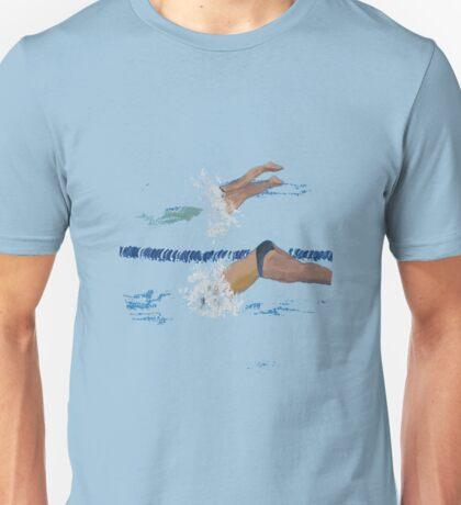 FIRST OFF THE BLOCKS Unisex T-Shirt