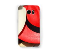 Red and White Hats Samsung Galaxy Case/Skin