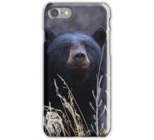 Black Bear Smile iPhone Case/Skin