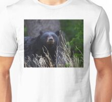 Black Bear Smile Unisex T-Shirt