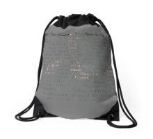 Fantastical Macklemores and Where to Find Them Drawstring Bag