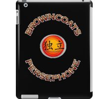 Browncoats Persephone on Black iPad Case/Skin