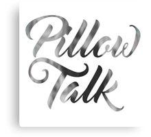 Pillow Talk ZAYN malik Canvas Print