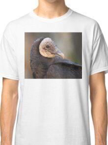 Black Vulture Portrait Classic T-Shirt