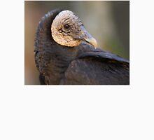 Black Vulture Portrait Unisex T-Shirt