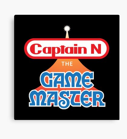 Captain N : The Game Master Canvas Print