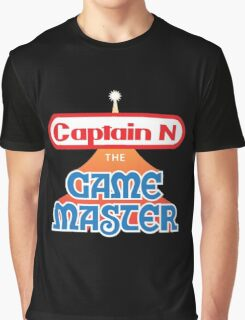 Captain N : The Game Master Graphic T-Shirt