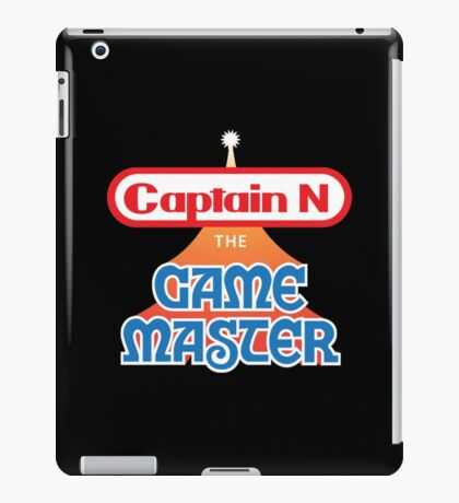 Captain N : The Game Master iPad Case/Skin