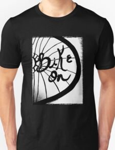 Rachel Doodle Art - Bike On T-Shirt