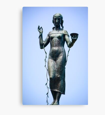 Maiden in Patina Canvas Print