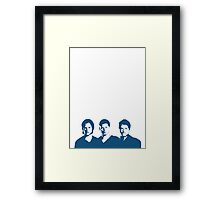 Supernatural - Sam, Dean & Cas Framed Print