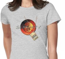 Serenity and Dock Pass Womens Fitted T-Shirt