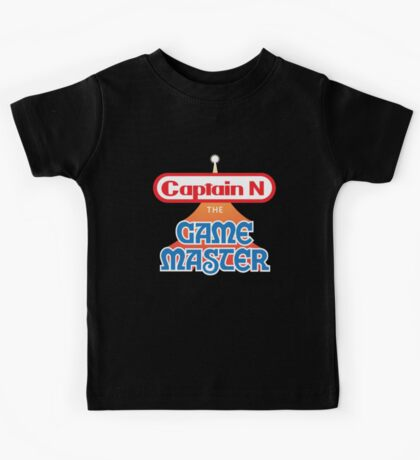 Captain N : The Game Master Kids Tee