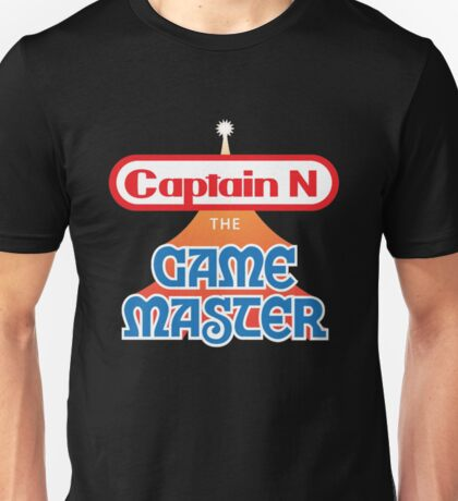 Captain N : The Game Master Unisex T-Shirt