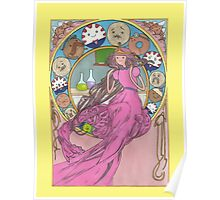 Mucha Princess Bubblegum Poster