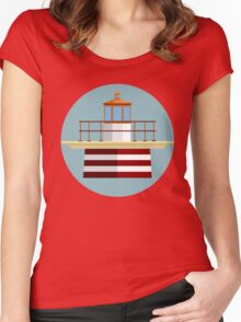 Wes Anderson's Moonrise Kingdom Women's Fitted Scoop T-Shirt