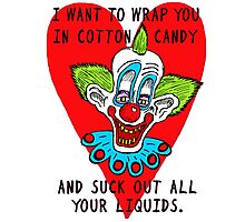 Eat You Up Valentine Photographic Print