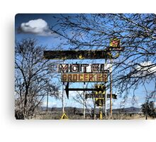 Route 66 New Mexico ~ Modern Ruins Canvas Print