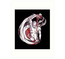 Love Cycle Art Print