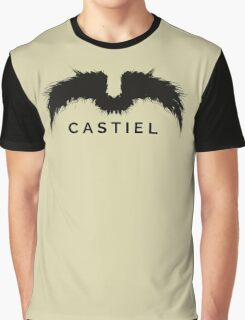 Supernatural - Castiel Graphic T-Shirt