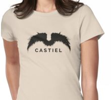Supernatural - Castiel Womens Fitted T-Shirt