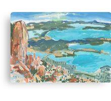 Mt Wellington Outlook Canvas Print