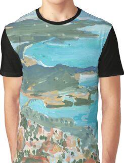 Mt Wellington Outlook Graphic T-Shirt