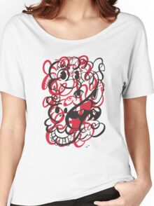 Doodle of the day II – red version Women's Relaxed Fit T-Shirt