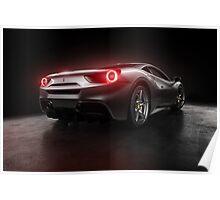 2016 Ferrari 488 GTB  Poster