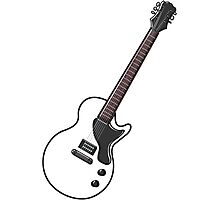Electric guitar Photographic Print