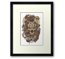 Grizzly woods Framed Print
