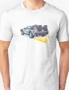 D.M.C OUTATIME Unisex T-Shirt