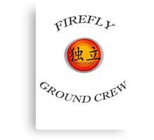 Firefly ''Ground Crew'' Canvas Print