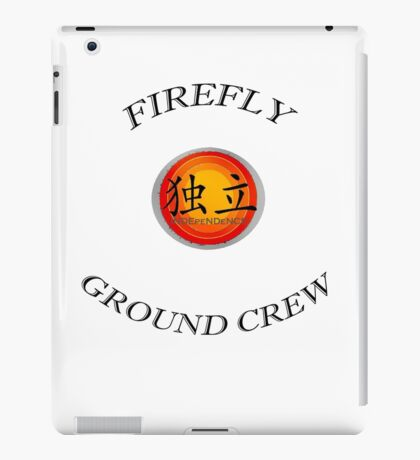 Firefly ''Ground Crew'' iPad Case/Skin