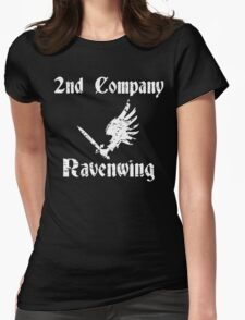 Ravenwing Distressed Womens Fitted T-Shirt